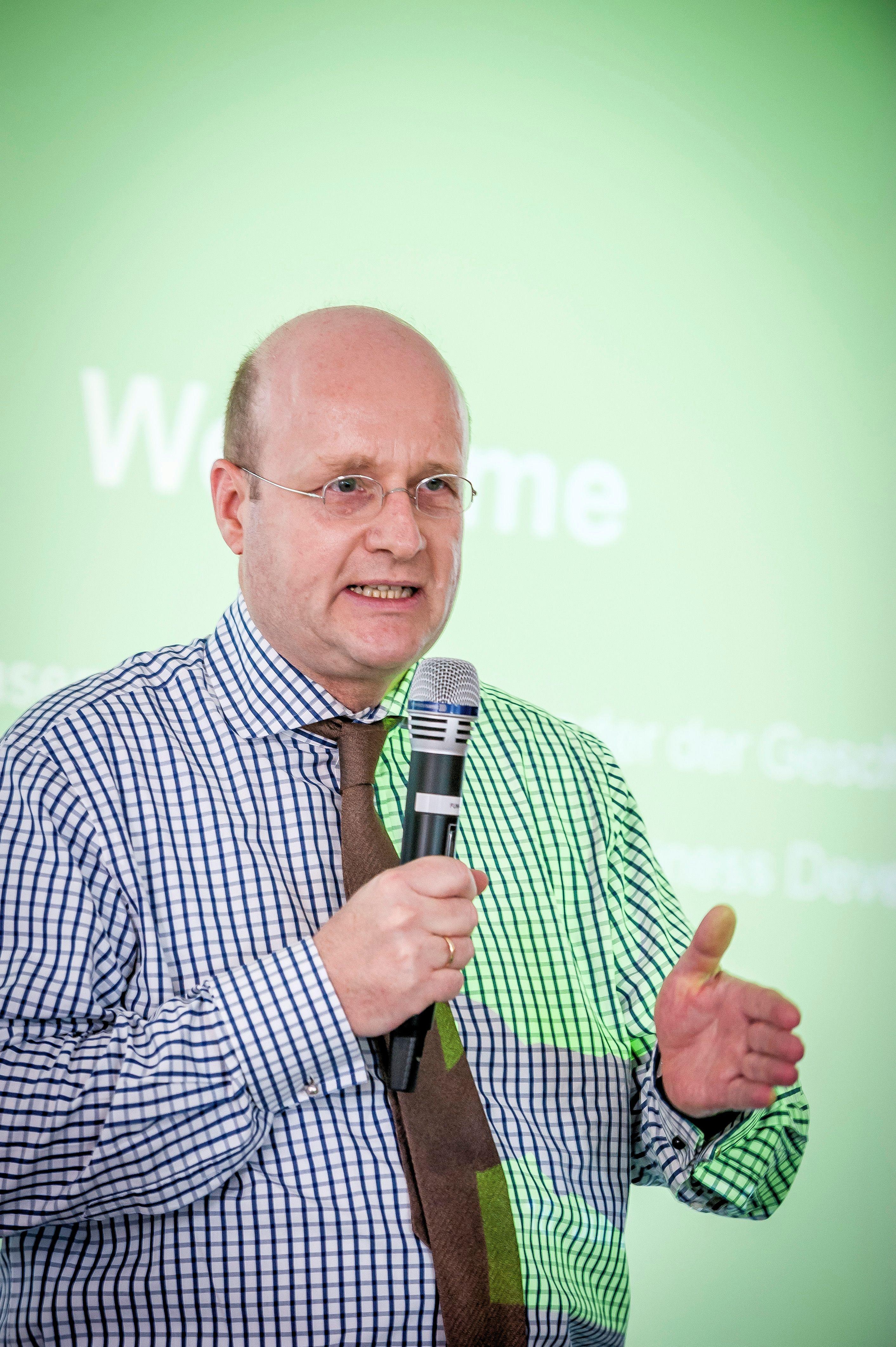 Infraserv-Geschäftsführer Jürgen Vormann